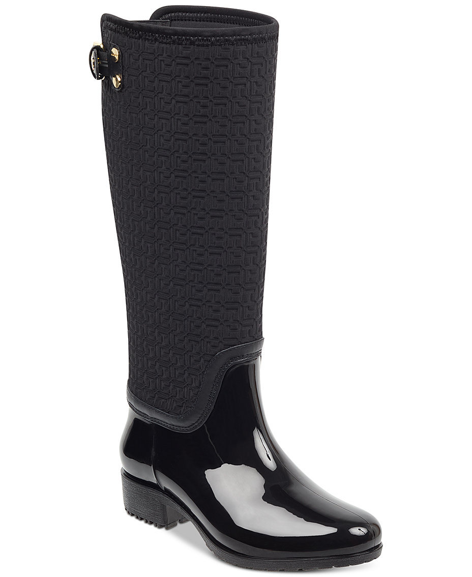 Tommy Hilfiger Women s Fhibe Rain Boots - Boots - Shoes - Macy s d1dd86df81