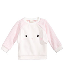 First Impressions Baby Girls Bunny Sweatshirt, Created for Macy's