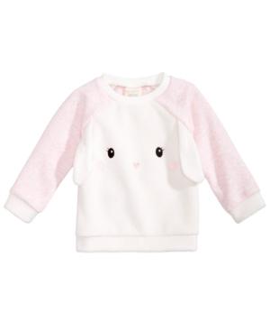First Impressions Baby Girls Bunny Sweatshirt Created for Macys