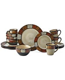 Emilia 16-Pc. Dinnerware Set, Service for 4