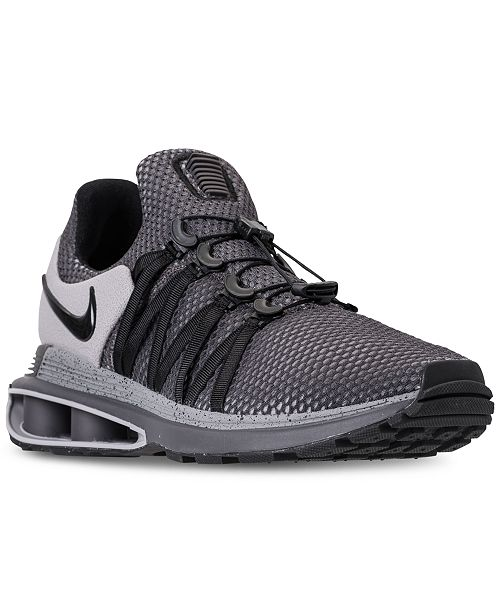 c718805292c4 Nike Men s Shox Gravity Casual Sneakers from Finish Line   Reviews ...