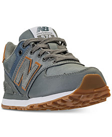 New Balance Boys' 574 Backpack Casual Sneakers from Finish Line
