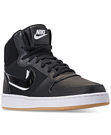 Nike Men's Ebernon Mid Premium Casual Sneakers from Finish Line