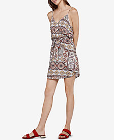 BCBGeneration Tropical Front-Tie Dress