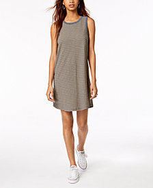 Roxy Juniors' Love Sun Cotton Striped Tank Dress