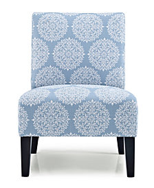 Monaco Accent Chair, Gabrielle Sky