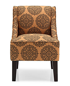 Marlow Accent Chair, Gabrielle Spice