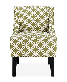 Prescott Accent Chair, Trellis Green