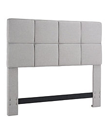 Grid Headboard, King/California King, Sandstone