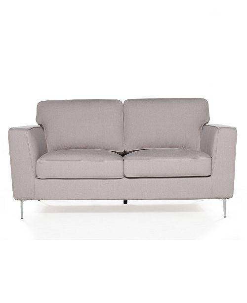 Pleasing Sofas 2 Go Blake Loveseat Cotton Flax Creativecarmelina Interior Chair Design Creativecarmelinacom
