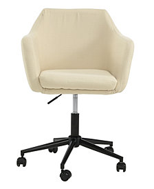 Upholstered Office Chair, Ricepaper