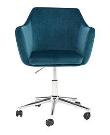 Upholstered Office Chair, Mallard