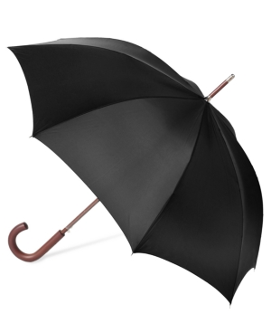 Totes Auto Wooden Stick Umbrella