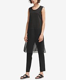 DKNY Sleeveless Scoop-Neck Tunic, Created for Macy's