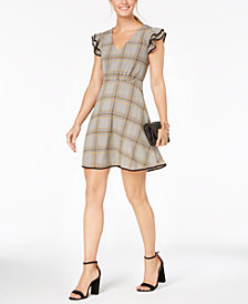 19 Cooper Printed Fit & Flare Dress