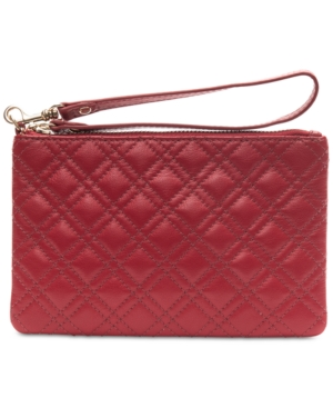 Image of Collection Xiix Quilted Leather Medium Wristlet