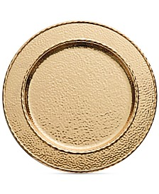 Michael Aram Hammertone Gold-Tone Charger/Platter