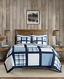 Woolrich Huntington Reversible 3-Pc. Oversized Full/Queen Quilt Mini Set