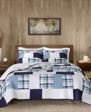 Woolrich Riverview Reversible 3-Pc. Oversized King/California King Quilt Mini Set 6725212