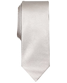 Tallia Men's Clifton Solid Slim Tie
