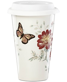 Lenox Butterfly Meadow Exclusive Travel Mug, Created For Macy's