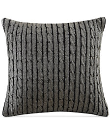 Woolrich Williamsport Cable-Knit European Sham