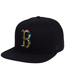 '47 Brand Boston Red Sox Camfill Neon Snapback Cap