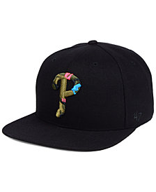 '47 Brand Philadelphia Phillies Camfill Neon Snapback Cap