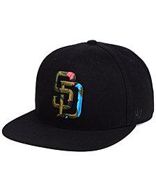 '47 Brand San Diego Padres Camfill Neon Snapback Cap