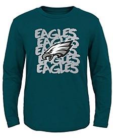 Philadelphia Eagles Graph Repeat T-Shirt, Toddler Boys (2T-4T)