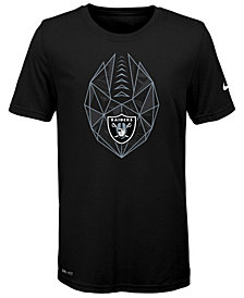 Nike Oakland Raiders Football Icon T-Shirt, Big Boys (8-20)