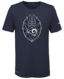 Nike Los Angeles Rams Football Icon T-Shirt, Big Boys (8-20)