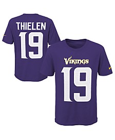 Nike Adam Thielen Minnesota Vikings Pride Name & Number 3.0 T-Shirt, Big Boys (8-20)