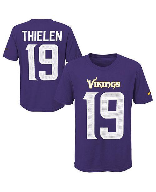 best service bbf0b fc32f Adam Thielen Minnesota Vikings Pride Name & Number 3.0 T-Shirt, Big Boys  (8-20)