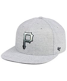 '47 Brand Pittsburgh Pirates Falton Snapback Cap