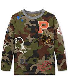 Polo Ralph Lauren Little Boys Camouflage Graphic Cotton T-Shirt