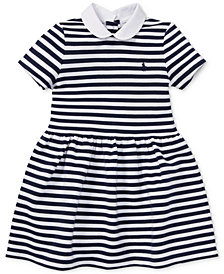 Polo Ralph Lauren Little Girls Striped Fit & Flare Dress