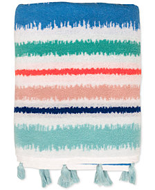 Dena Tropical Cotton Stripe Bath Towel