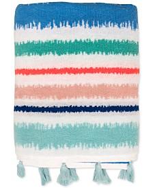 Dena Tropical Cotton Stripe Bath Towel