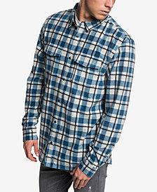 Quiksilver Men's Striped Fleece Shirt