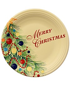 Christmas Tree Merry Christmas Plate