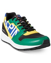 Polo Ralph Lauren Downhill Skier Men s Train 100 Tech-Suede Sneakers ce83e01c6