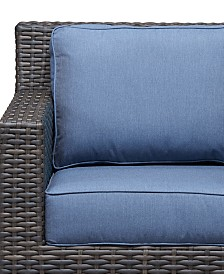 Viewport Outdoor Club Chair Replacement Sunbrella® Cushion, Quick Ship