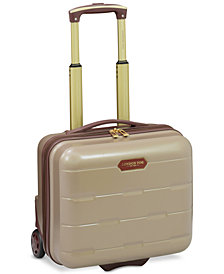 "London Fog Brentwood 15"" Hardside Under-Seater Carry-On Suitcase, Created for Macy's"