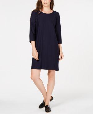 Eileen Fisher 3/4-Sleeve Dress 6667473
