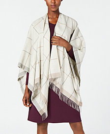 Eileen Fisher Printed Poncho, Regular & Plus