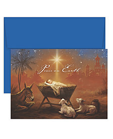 Masterpiece Studios Baby Jesus with Animals Boxed Cards