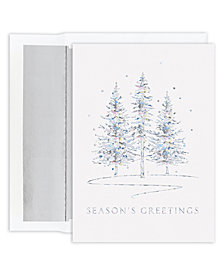 Masterpiece Studios Winter Treeline Boxed Cards