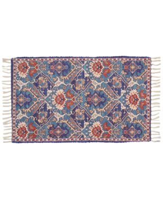 """Persiana 01 Blue 27"""" x 45"""" Accent Rug"""