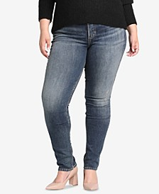 Plus Size Avery High-Rise Curvy-Fit Slim Jeans